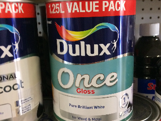 Dulux once